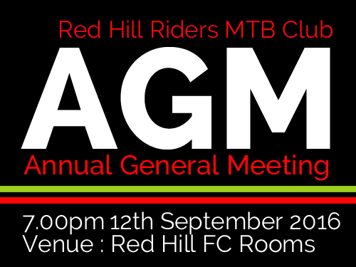 Red Hill Riders AGM Sept 2016