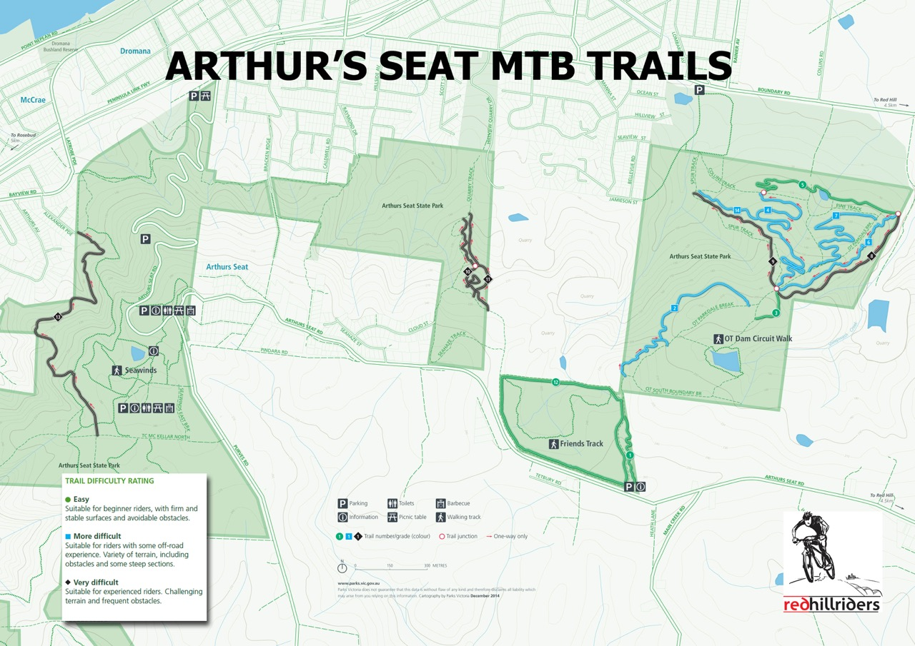 Red Hill Riders Mountain Bike Club Trail Network