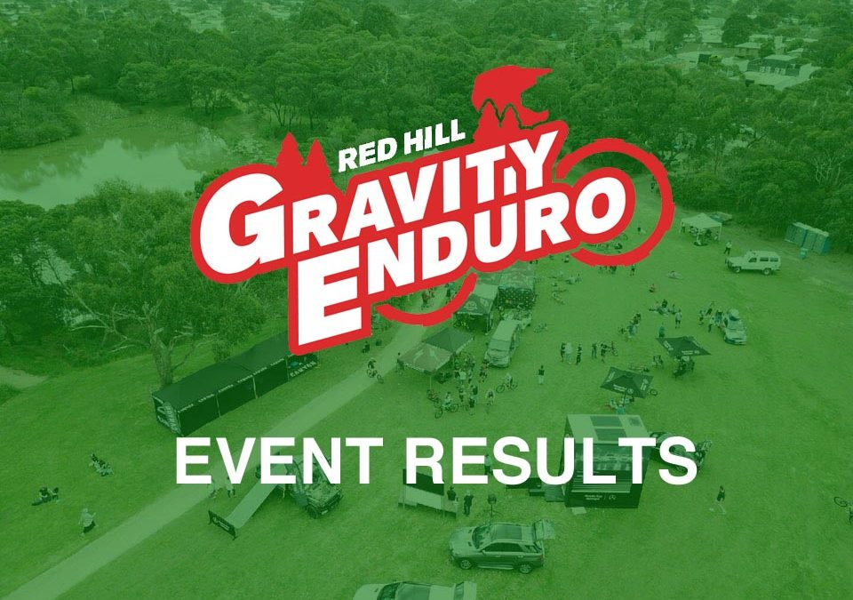 Red Hill Gravity Enduro Race Results